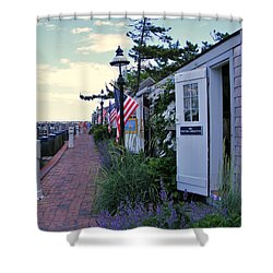 Shower Curtain featuring the photograph America The Beautiful by James McAdams
