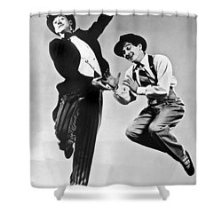 American Ballet Dancers Shower Curtain by Underwood Archives