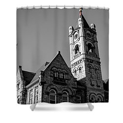 American Courthouse Shower Curtain