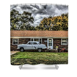 American Dream Revisited  Shower Curtain
