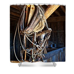 Shower Curtain featuring the photograph American History by Jim Garrison