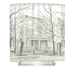 American Home II Shower Curtain by Kip DeVore