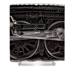 Shower Curtain featuring the photograph American Iron by Ken Smith