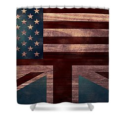 American Jack I Shower Curtain