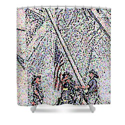 American Spirit Shower Curtain