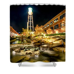 American Tobacco Campus Shower Curtain