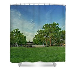 American University Quad Shower Curtain