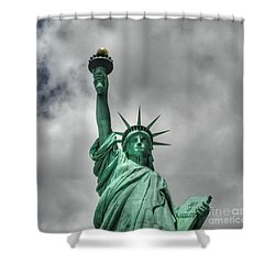 America's Lady Liberty Shower Curtain
