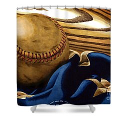 America's Pastime 3 Shower Curtain