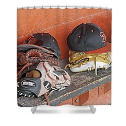 America's Pastime  Shower Curtain by Shoal Hollingsworth