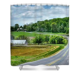 Amish Countryside Shower Curtain