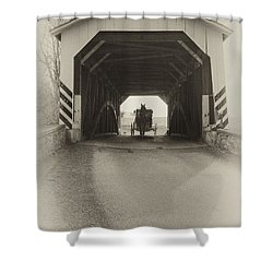 Amish Region - Vintage Shower Curtain
