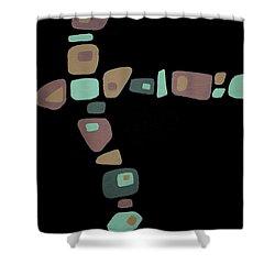 Amoeba 1 Shower Curtain