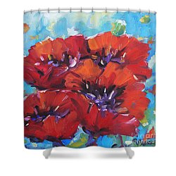 Amore By Prankearts Shower Curtain by Richard T Pranke