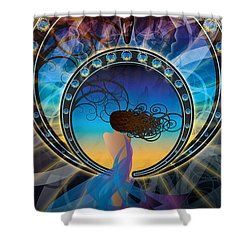 Amore E Nostalgia Shower Curtain by Kenneth Armand Johnson