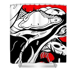 Amphibious Shower Curtain