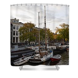 Amstel River Shower Curtain