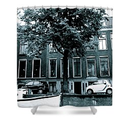 Amsterdam Electric Car Shower Curtain