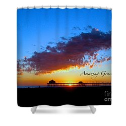 Amzing Grace 7 Shower Curtain by Margie Amberge