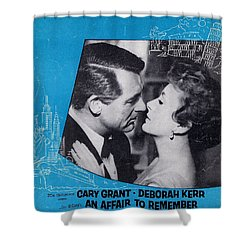 An Affair To Remember Shower Curtain by Mel Thompson