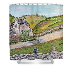An Afternoon In June  Shower Curtain by Loredana Messina
