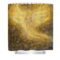 An Angel I Know Shower Curtain