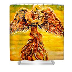 An Angels Love Shower Curtain