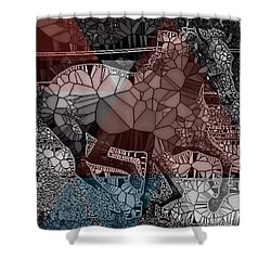 An Artistic Andy Shower Curtain