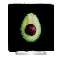 An Avocado Shower Curtain