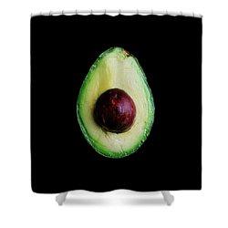 An Avocado Shower Curtain