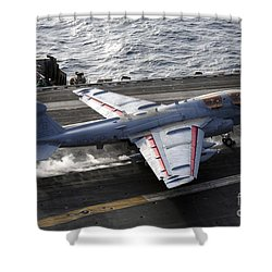 An Ea-6b Prowler Takes Shower Curtain by Stocktrek Images