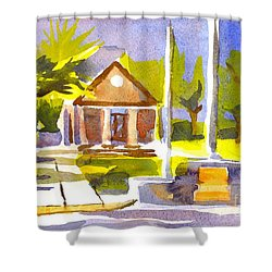 An Early Summers Morning Shower Curtain by Kip DeVore