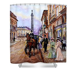 An Evening Out Shower Curtain by Andrew Read