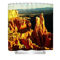 An October View Shower Curtain by Jeff Swan