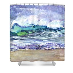 An Ode To The Sea Shower Curtain