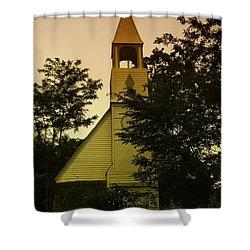 An Old Church Near Moxee Wa Shower Curtain by Jeff Swan