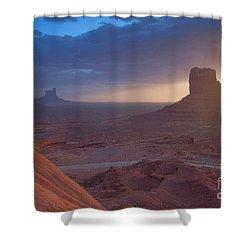 An Open Invitation Shower Curtain