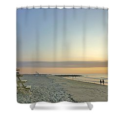 An Ordinary Summer Day Begins Shower Curtain