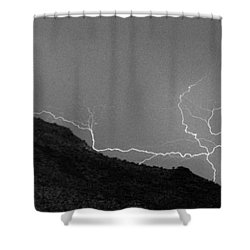 Shower Curtain featuring the photograph An Uphill Run by J L Woody Wooden