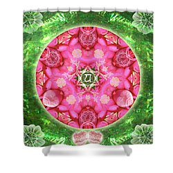 Anahata Rose Shower Curtain