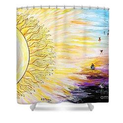 Anche Per Te Sorgera' Il Sole Shower Curtain