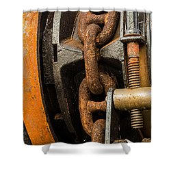 Anchor Chain - Tall Ship Elissa Shower Curtain