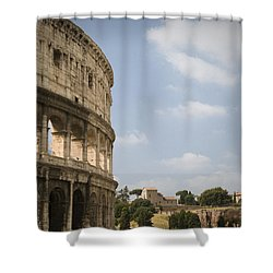 Ancient Colosseum Shower Curtain by Jeremy Voisey