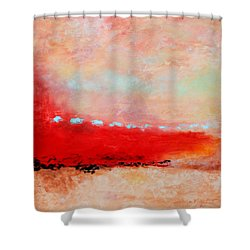 Ancient Dreams Shower Curtain by M Diane Bonaparte
