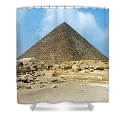 Ancient Great Shower Curtain