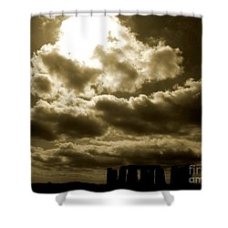 Shower Curtain featuring the photograph Ancient Mystery by Vicki Spindler