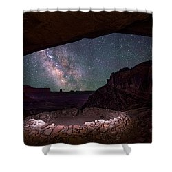 Ancient Skies Shower Curtain