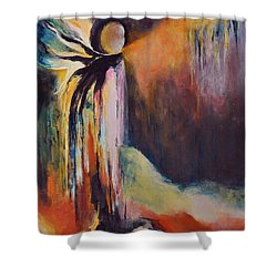 Ancrage Shower Curtain by Francoise Dugourd-Caput