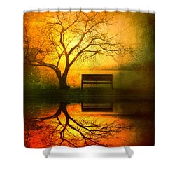 And I Will Wait For You Until The Sun Goes Down Shower Curtain