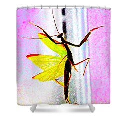 Shower Curtain featuring the photograph And Now Our Featured Dancer by Xn Tyler